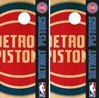 Detroit Pistons Cornhole Wrap NBA Logo Game Board Skin Set Vinyl Decal CO601 on eBay