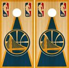 Golden State Warriors Cornhole Wrap NBA Game Board Skin Set Vinyl Decal CO605 on eBay