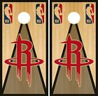 Houston Rockets Cornhole Wrap NBA Vintage Game Board Skin Set Vinyl Decal CO611 on eBay