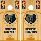 Memphis Grizzlies Cornhole Wrap NBA Court Game Board Skin Set Vinyl Decal CO638 on eBay