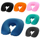 Neck U Shaped Inflatable Pillow Car Air Travel Office Home Support Cushion PICK image