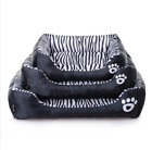 Pet supplies waterproof zebra print pet nest Teddy dog bed sofa cushion kennel