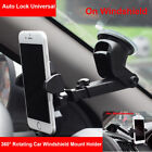 Universal Car 360° Windshield Mount Holder for iPhone X 6S 7 8 Plus Samsung GPS