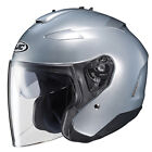 HJC IS-33 II Open Face Helmet Light Silver
