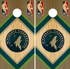 Minnesota Timberwolves Cornhole Wrap NBA Wood Game Skin Set Vinyl Decal CO654 on eBay