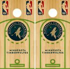 Minnesota Timberwolves Cornhole Wrap NBA Court Game Skin Set Vinyl Decal CO656 on eBay