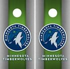 Minnesota Timberwolves Cornhole Wrap NBA Game Skin Set Vinyl Decal Decor CO658 on eBay