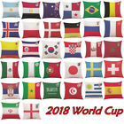 Square The 2018 Russia World Cup Home Decor Cushion Cover Soccer Pillow Cover