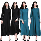 Islam Robe Ramadan Women Muslim Dress Jilbab Vintage Cocktail Dubai Maxi Kaftan