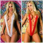 New Women Sexy Lingerie Lace Sheer Temptations G-string Babydoll N98B