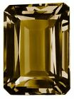 Natural Fine Smoky Quartz - Emerald Cut - Brazil - AAA Grade