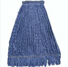 Mop Head Replacement, Blue Cotton Looped End String Cleaning Mop Head Refill