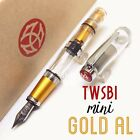 TWSBI Mini AL Aluminum Metal version The New Gold Fountain Pen