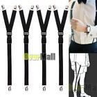 shirt keepers - 4 x Luxury Military Y Style Shirt Holders Uniform Shirt Stays Keepers Garters US