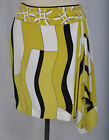 CARLISLE SILK DRAPING ASSYMETRICAL COLORBLOCK SKIRT size 12 NEW $345