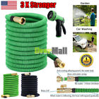 3X Latex Deluxe 25 50 75 100 Ft Durable Expandable Flexible Garden Water Hose