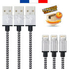 CABLE POUR IPHONE X 8 7 6 5 PLUS IPAD CHARGER USB...