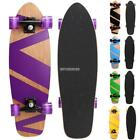 "27"" Cruiser Style Skateboard Outdoors Wooden Deck Skate Adult/Kids Fun Sports image"