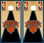 New York Knicks Cornhole Wrap NBA Game Board Skin Set Vinyl Decal Vintage CO665 on eBay