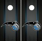 Orlando Magic Cornhole Wrap NBA Game Board Skin Vinyl Decal Luxury Set CO681 on eBay