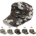 Summer Men Women Fashion Camouflage Casquette flat-top Cap Couple Hat Outdoor
