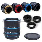 3 Piece Auto Focus Extension Tube Set For SLRs Cameras N98B