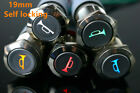 19mm Self locking switch  buttonswitch metal Led 12V horn logo light logo