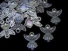 25mm Tibetan Silver Angel Charms Christmas Fairy Jewellery Pendant Craft Ml