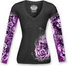 Lethal Threat Nitemare Womens Long Sleeve T-Shirt Black <br/> Free Domestic Shipping &amp; No Restock Fees on Returns*