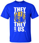 Golden State Warriors They Hate Us Men's T-Shirt