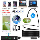 1200P Rigid Wifi Endoscope Camera HD 8mm Borescope for Android IPhone IOS IP68