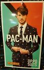 Men's OppoSuits Slim-Fit  Pac-Man 3 Piece Suit Set -Jacket, Pants & Tie Set  NWT