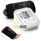 Digital LCD Upper Arm Blood Pressure Pulse Monitor Health Care Sphygmomanometer
