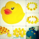 Baby Bath Toy Float And Squeak Rubber Duck No Toxic For Kids Bath Time Yellow
