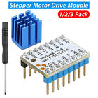 1/2/3X TMC2208 Stepstick Stepper Motor Driver Module + Heat Sink for 3D Printer