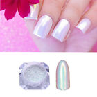 BORN PRETTY Glitter Mermaid Neon Powder Chrome Nail Art Rain