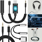 For i Phone 3.5mm Headphone Extender Extension AUX Stereo Audio Adapter Cavendish