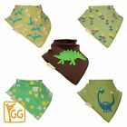 Baby Bandanna Drool Dribble Bibs 5 Packs Unisex Set for Drooling and Teething