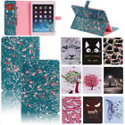 Pattern Smart Leather Shockproof Rubber Wallet Case Cover For iPad Mini 1 2 3 4