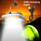 Solar Rechargeable LED Lantern Outdoor Garden Night Camping Tent Light Lamp Cool