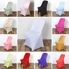 SPANDEX CHAIR COVERS Folding Stretchable Fitted Wedding Party Decorations SALE
