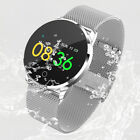 Bluetooth Smart Watch Pedometer Sleep Health Heart Rate Monitor For Android IOS
