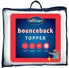 Silentnight Bounceback Mattress Topper Single Double King Super K