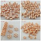 Внешний вид - Mixed Size Alloy Rose Gold Charm Loose Spacer Beads DIY Jewelry Findings