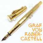 Graf von Faber Castell Classic Edition Anello Gold Plated 18K Fountain Pen