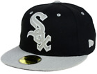 CHICAGO WHITE SOX New Era Fitted MLB Heather XL Logo 59FIFTY Cap Hat Baseball on Ebay