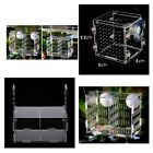 Aquarium Fish Tank Guppy Double Breeding Box Breeder Rearing Trap Box Hatchery
