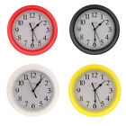 22cm 9 Silent Sweep Modern Wall Clock, ideal for use in office, home 4 Colors