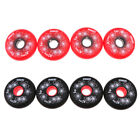 4Pcs Replacement Wheels for Skating Inline Roller Skate Shoes 84A 72/76/80mm