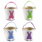 Cute Bunny Easter Basket Eggs Candy Gifts Storage Rabbit Bag Party Decoration BL